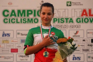 E' del Re Artù Factory Team la campionessa italiana su pista