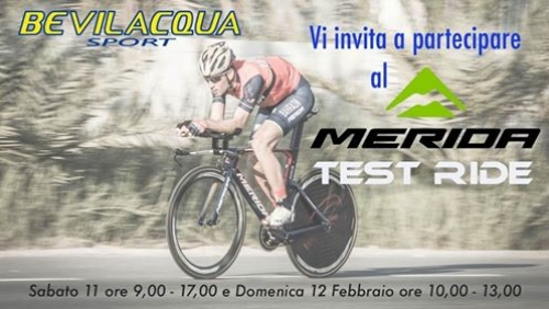 Merida Test Ride a Pescara !